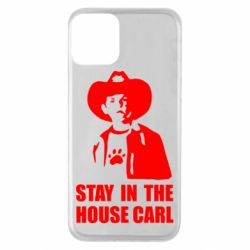 Чехол для iPhone 11 Stay in the house Carl