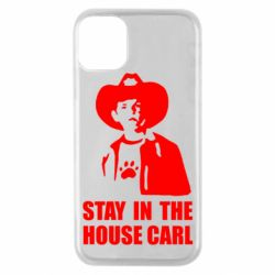 Чехол для iPhone 11 Pro Stay in the house Carl