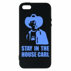 Чехол для iPhone5/5S/SE Stay in the house Carl