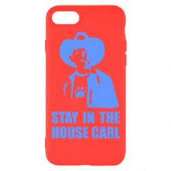 Чехол для iPhone 8 Stay in the house Carl