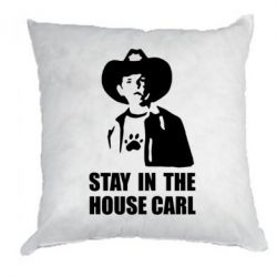 Подушка Stay in the house Carl