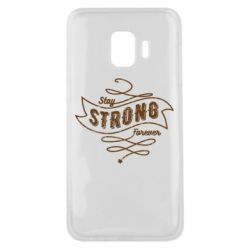 Чохол для Samsung J2 Core Stay strong forever
