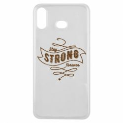 Чохол для Samsung A6s Stay strong forever