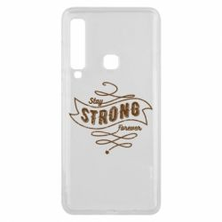 Чохол для Samsung A9 2018 Stay strong forever