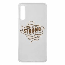 Чохол для Samsung A7 2018 Stay strong forever