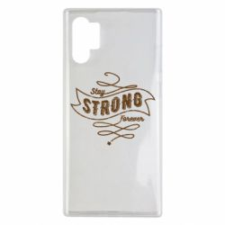 Чохол для Samsung Note 10 Plus Stay strong forever