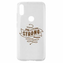 Чохол для Xiaomi Mi Play Stay strong forever