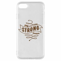 Чохол для iPhone 8 Stay strong forever