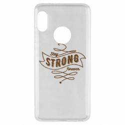 Чохол для Xiaomi Redmi Note 5 Stay strong forever