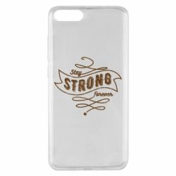 Чохол для Xiaomi Mi Note 3 Stay strong forever