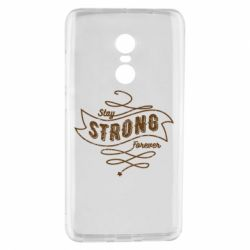 Чохол для Xiaomi Redmi Note 4 Stay strong forever