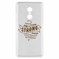 Чохол для Xiaomi Redmi Note 4x Stay strong forever