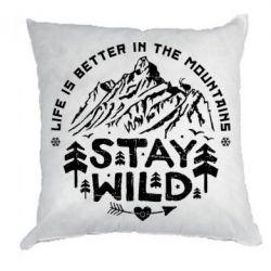 Подушка Stay Wild