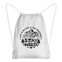 Рюкзак-мешок Stay Wild