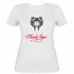 Жіноча футболка Steady tiger
