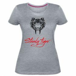 Жіноча стрейчева футболка Steady tiger