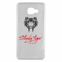 Чохол для Samsung A7 2016 Steady tiger