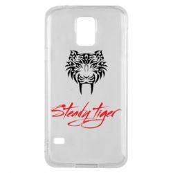 Чохол для Samsung S5 Steady tiger