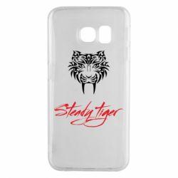Чохол для Samsung S6 EDGE Steady tiger