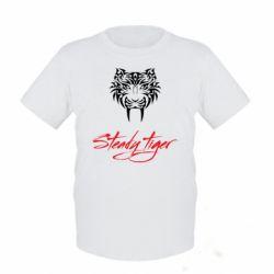Дитяча футболка Steady tiger