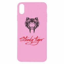 Чохол для iPhone Xs Max Steady tiger