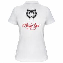 Жіноча футболка поло Steady tiger