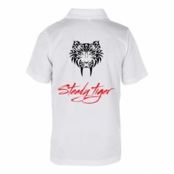 Дитяча футболка поло Steady tiger