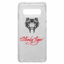 Чохол для Samsung S10+ Steady tiger