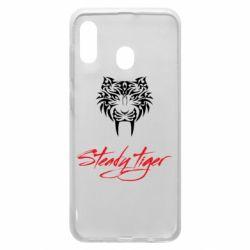 Чохол для Samsung A20 Steady tiger
