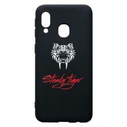 Чохол для Samsung A40 Steady tiger