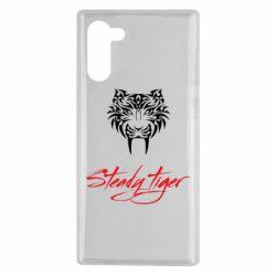 Чохол для Samsung Note 10 Steady tiger