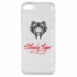 Чохол для iphone 5/5S/SE Steady tiger