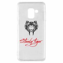 Чохол для Samsung A8 2018 Steady tiger