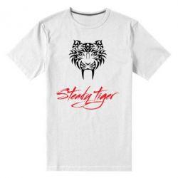 Чоловіча стрейчева футболка Steady tiger