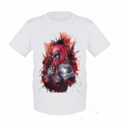 Детская футболка Стесняшка Deadpool