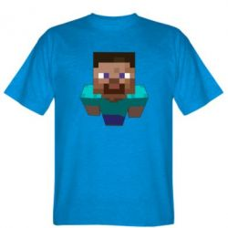 Мужская футболка Steve from Minecraft - FatLine