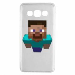 Чехол для Samsung A3 2015 Steve from Minecraft