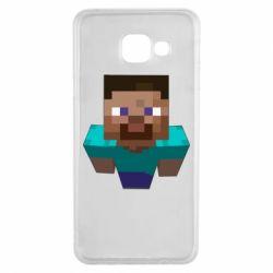 Чехол для Samsung A3 2016 Steve from Minecraft