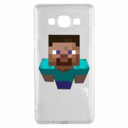Чехол для Samsung A5 2015 Steve from Minecraft