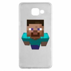 Чехол для Samsung A5 2016 Steve from Minecraft
