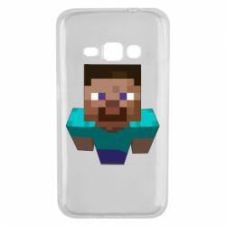 Чехол для Samsung J1 2016 Steve from Minecraft