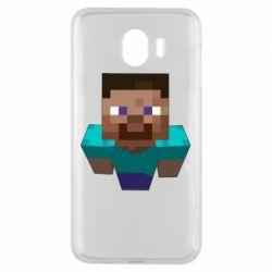 Чехол для Samsung J4 Steve from Minecraft