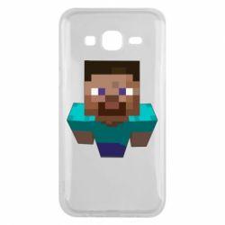 Чехол для Samsung J5 2015 Steve from Minecraft