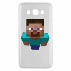 Чехол для Samsung J5 2016 Steve from Minecraft
