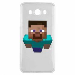 Чехол для Samsung J7 2016 Steve from Minecraft