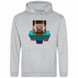 Мужская толстовка Steve from Minecraft