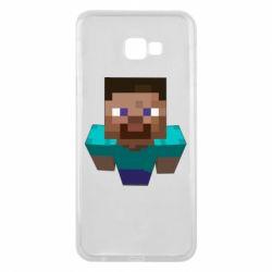 Чехол для Samsung J4 Plus 2018 Steve from Minecraft