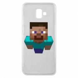 Чехол для Samsung J6 Plus 2018 Steve from Minecraft