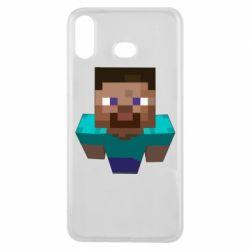 Чехол для Samsung A6s Steve from Minecraft