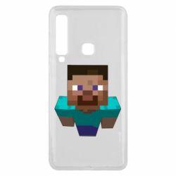 Чехол для Samsung A9 2018 Steve from Minecraft